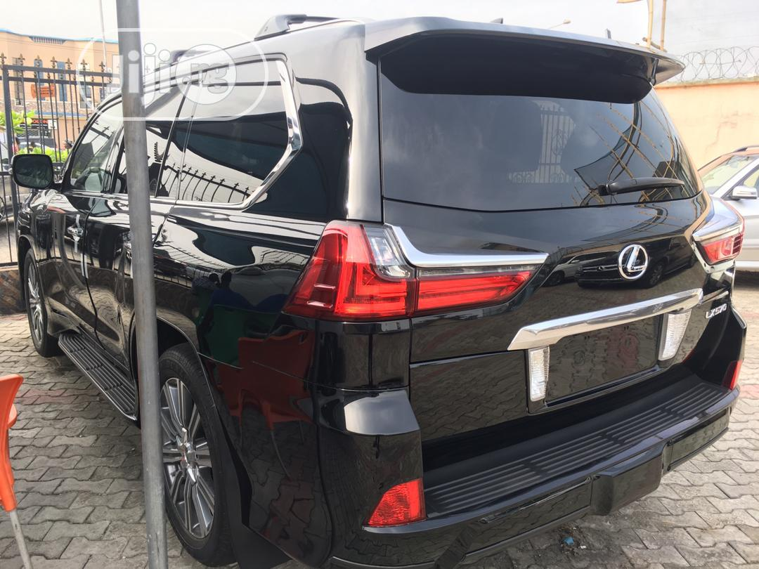 Lexus LX 2017 570 Base Black | Cars for sale in Apapa, Lagos State, Nigeria