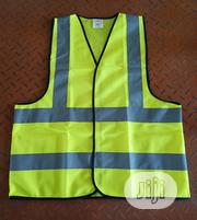 Retro-reflective Safety Vest, Fluorescent Yellow Work Vest | Safety Equipment for sale in Lagos State, Amuwo-Odofin