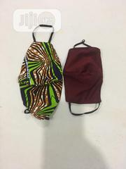 2 In 1 Ankara/Cotton Facemask With Elastic Eargrip   Clothing Accessories for sale in Lagos State, Ajah