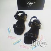 Giuseppe Zanotti Jason Sandal Black | Shoes for sale in Lagos State, Ojo