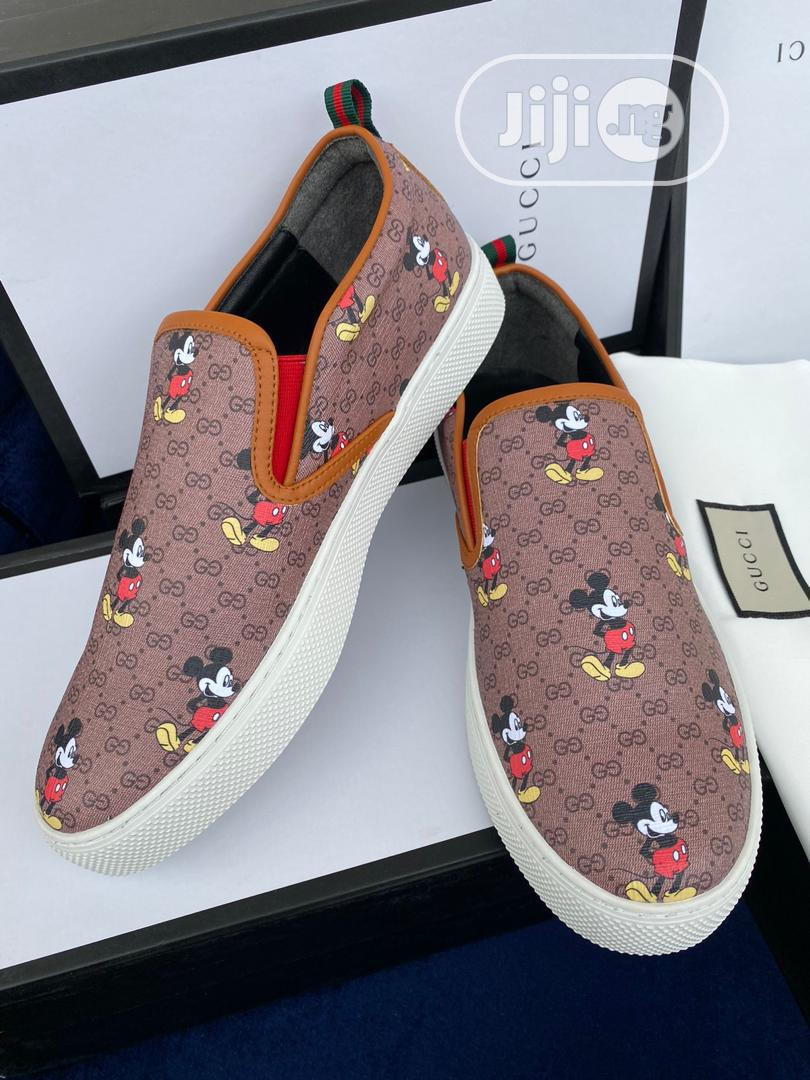 Gucci Mickey Mouse Sneaker for Men | Shoes for sale in Magodo, Lagos State, Nigeria