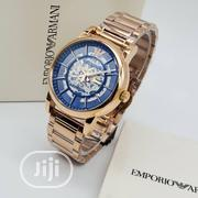Emporio Armani Rose Gold Chain Watch for Men | Watches for sale in Lagos State, Magodo