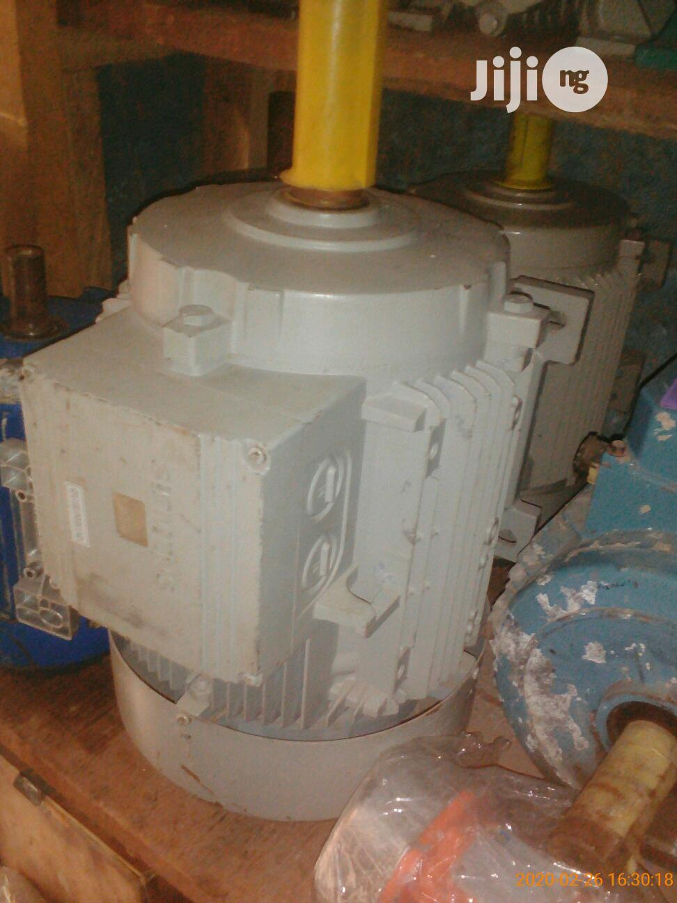 20hp Electric Motor High Speed Or Low | Manufacturing Equipment for sale in Ojo, Lagos State, Nigeria