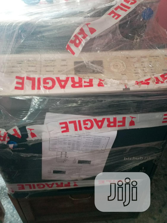 Bizhub 215 DI Machine   Printers & Scanners for sale in Warri, Delta State, Nigeria