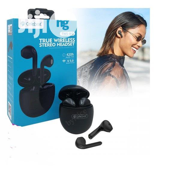 Wireless Headphone Celebrat W3 True Wireless Bluetooth 5.0