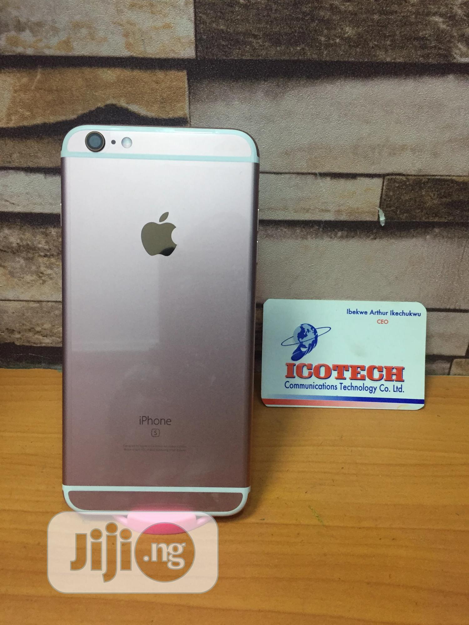 Apple iPhone 6s 64 GB Gold   Mobile Phones for sale in Ikeja, Lagos State, Nigeria