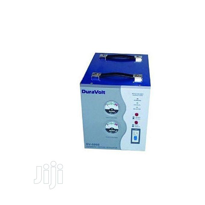 Archive: 5000W Automatic Voltage Stabilizer (AVR-DV5000) Duravolt