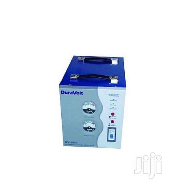 5000W Automatic Voltage Stabilizer (AVR-DV5000) Duravolt