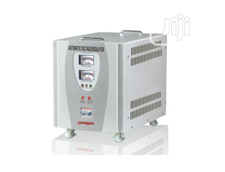 10KVA Stabilizer Automatic Voltage Regulator (AVR-PRO 10000VA) Qasa