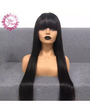Straight Cute Long Human Hair Wig With Frontal | Hair Beauty for sale in Lagos State, Ikeja