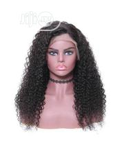 Cute Curly Human Hair Wig With Frontal | Hair Beauty for sale in Lagos State, Ikeja