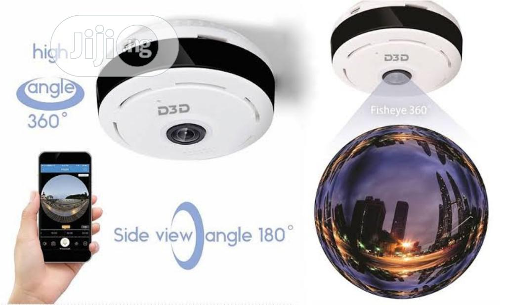 Wireless Panoramic 360 IP Camera