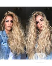 Unique Quality Wavy Human Hair With Frontal | Hair Beauty for sale in Lagos State, Ikeja