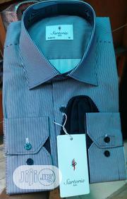 Pin Stripes Satoria Turkey Shirts | Clothing for sale in Lagos State, Lagos Island