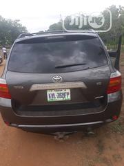 Toyota Highlander 2008 4x4 Gray | Cars for sale in Abuja (FCT) State, Garki 1