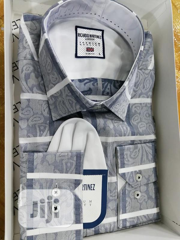 Archive: White Line Vintage Design Packed Shirts by Ricardo Martinez