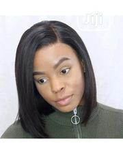 Cute Bob Human Hair Wig With Frontal | Hair Beauty for sale in Lagos State, Ikeja