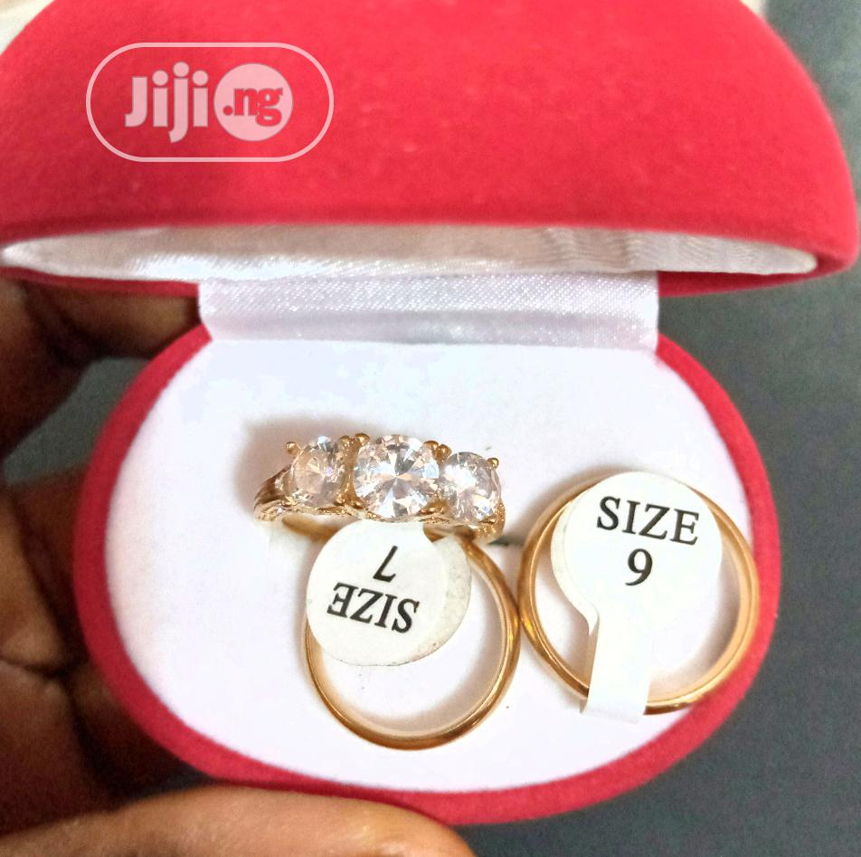 Gold Wedding Ring Set | Wedding Wear & Accessories for sale in Mpape, Abuja (FCT) State, Nigeria