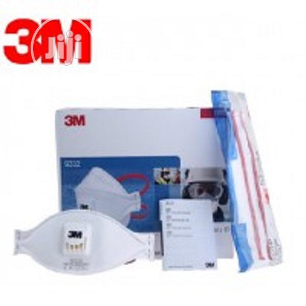 3M Aura Particulate Respirator, FFP3, Valved, 9332+   Hand Tools for sale in Ikeja, Lagos State, Nigeria