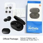 Original Xiaomi Redmi Airdots TWS Bluetooth Wireless Earphones | Headphones for sale in Lagos State, Ikeja