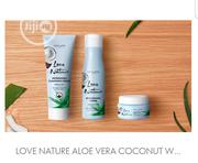 Love Nature Aloe Vera And Coconut Water. All Ages | Skin Care for sale in Lagos State, Ipaja