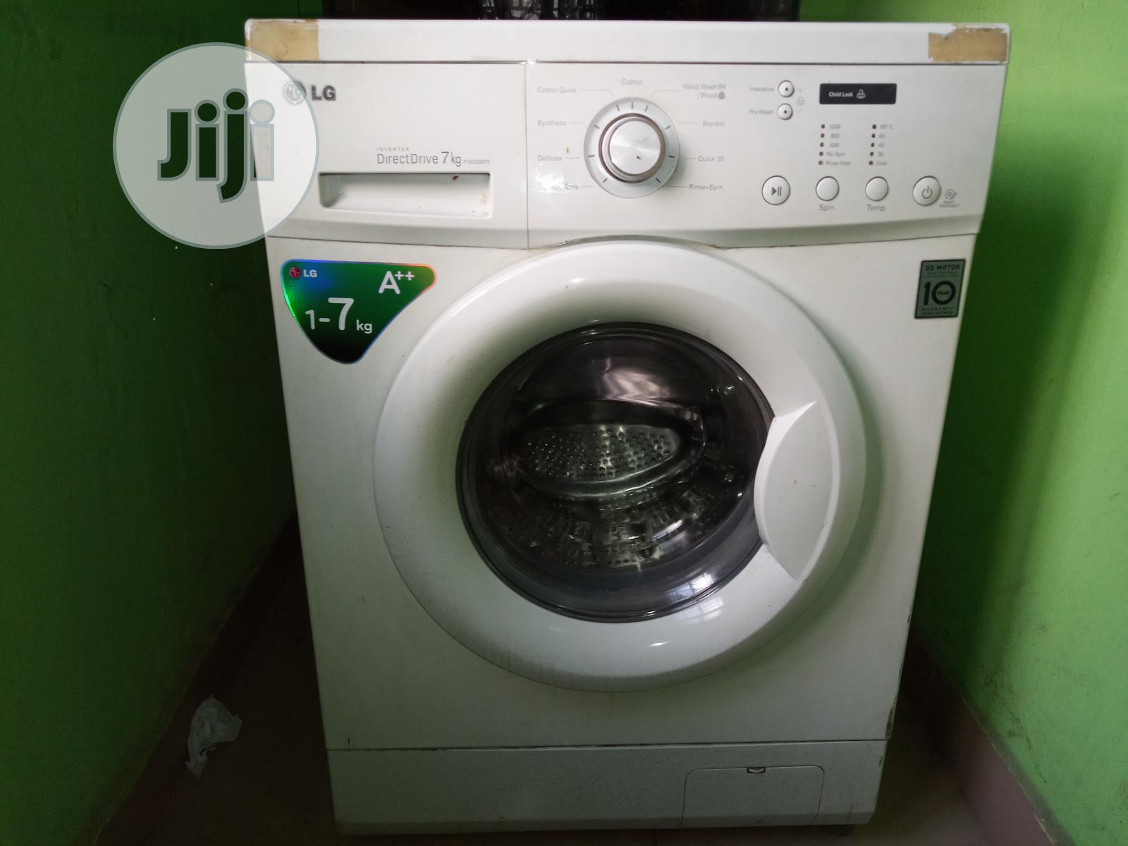Archive: LG 7 Kg Auto Restart 1000 RPM Front Load Noise Free Washing Machine