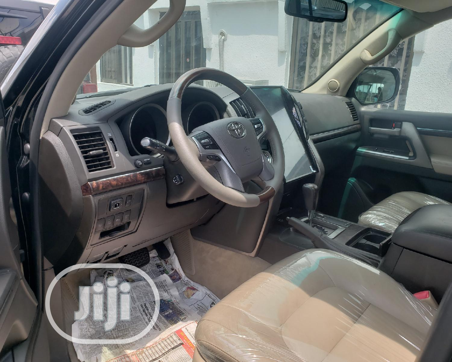 Toyota Land Cruiser 2008 Black | Cars for sale in Surulere, Lagos State, Nigeria