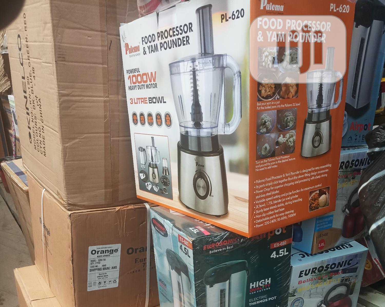 Paloma Yam Pounder/Food Processor - 3litre Bowl/1000watts