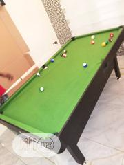 Green Felt 6fit Snooker Board With Complete Accessories   Sports Equipment for sale in Lagos State, Surulere