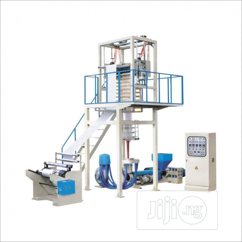 Pure Water Nylon Film Blowing Machine Shopping Bag Extruder | Manufacturing Equipment for sale in Ajah, Lagos State, Nigeria
