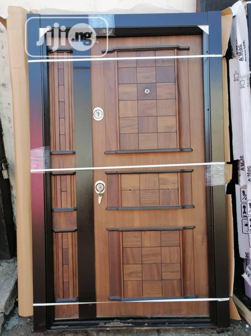 New Arrivals - Turkish Armored Security Door For Entrance 4ft And 3ft