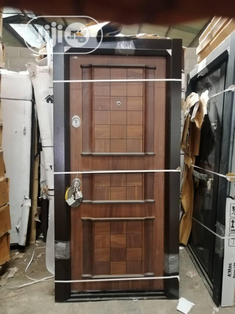 New Arrivals - Turkish Armored Security Door For Entrance 4ft And 3ft   Doors for sale in Orile, Lagos State, Nigeria