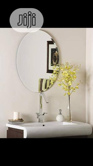 Oval Plain Mirror   Home Accessories for sale in Lagos State, Orile