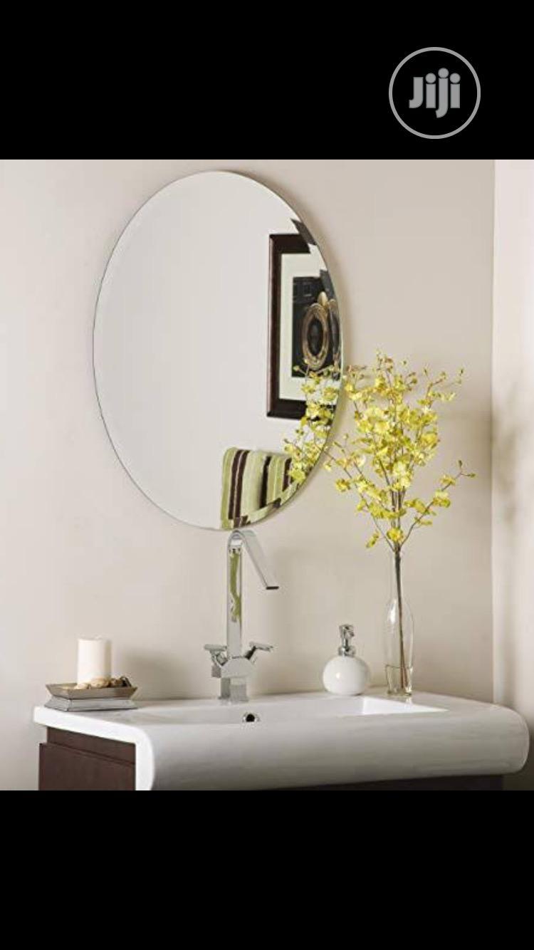 Oval Plain Mirror