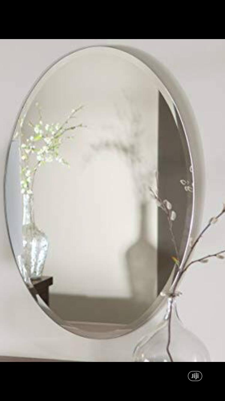Oval Plain Mirror | Home Accessories for sale in Orile, Lagos State, Nigeria