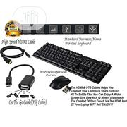 Combo Wireless Suit Waterproof Keyboard+1600DPI Optical Gaming Mouse | Computer Accessories  for sale in Lagos State, Surulere