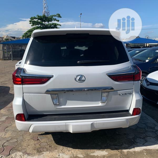 Lexus LX 570 2017 White   Cars for sale in Amuwo-Odofin, Lagos State, Nigeria
