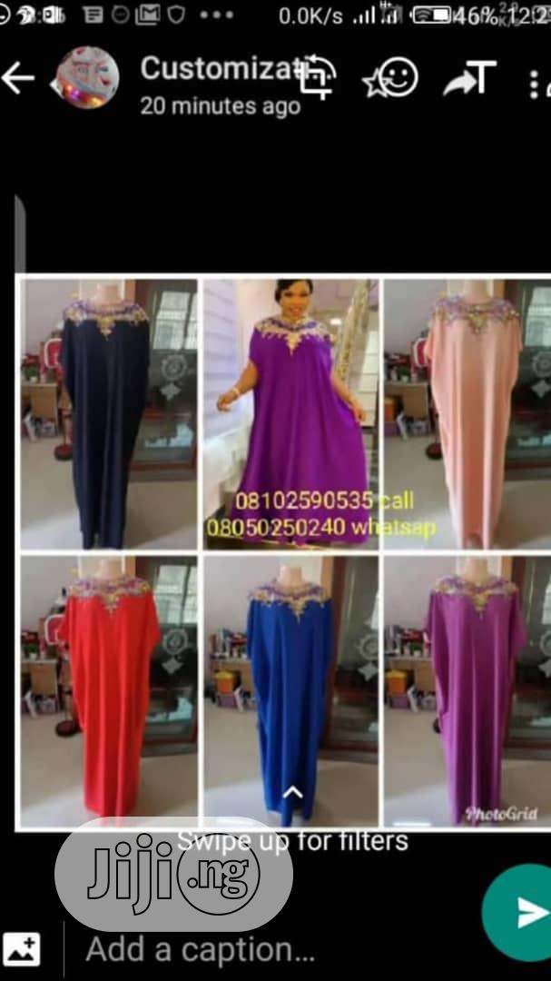Long Gown for Women With Good Quality Material Are Now Available | Clothing for sale in Lagos Island, Lagos State, Nigeria