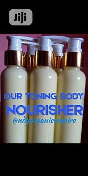 Toning Body Nourisher for Brown Skin (500ml) | Skin Care for sale in Lagos State, Surulere