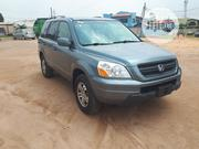 Honda Pilot 2005 LX 4x4 (3.5L 6cyl 5A) Blue | Cars for sale in Lagos State, Agege