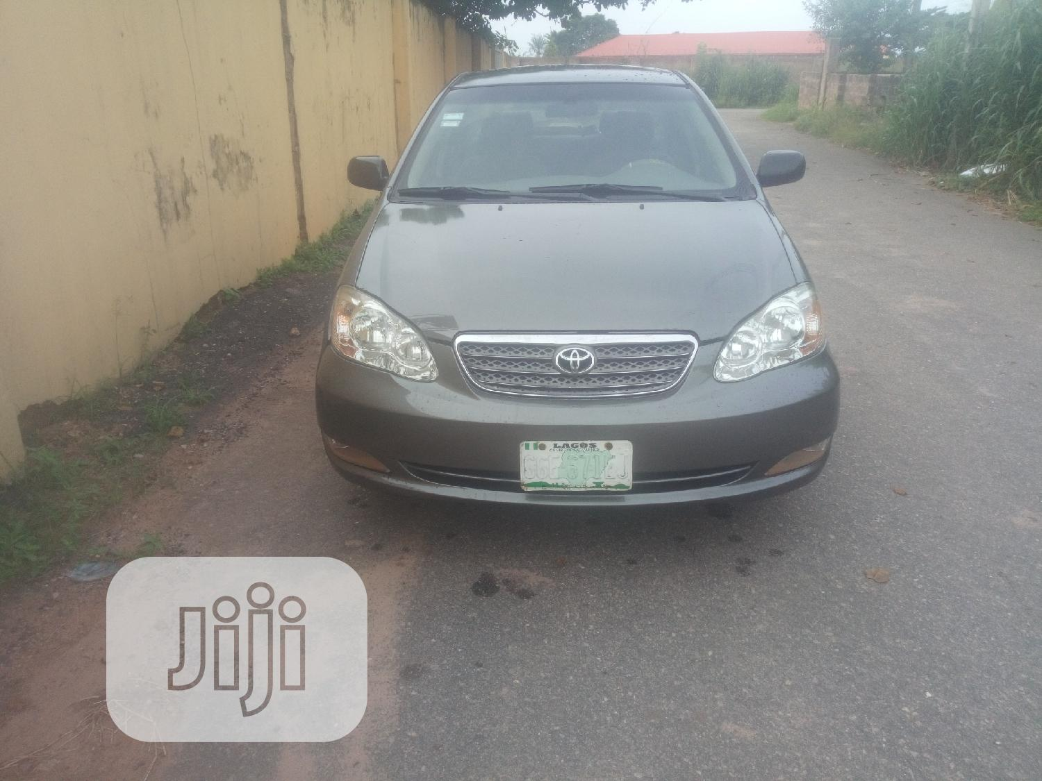 Toyota Corolla 2003 Sedan Gray In Aba North Cars Dean Nosakhare Jiji Ng For Sale In Aba North Buy Cars From Dean Nosakhare On Jiji Ng