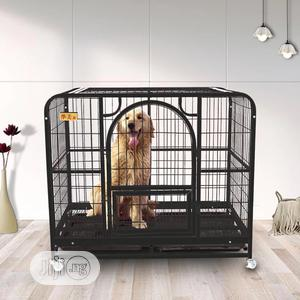 Free Delivery! European Heavy Duty Metal Wire Dog Cage   Pet's Accessories for sale in Lagos State, Lekki