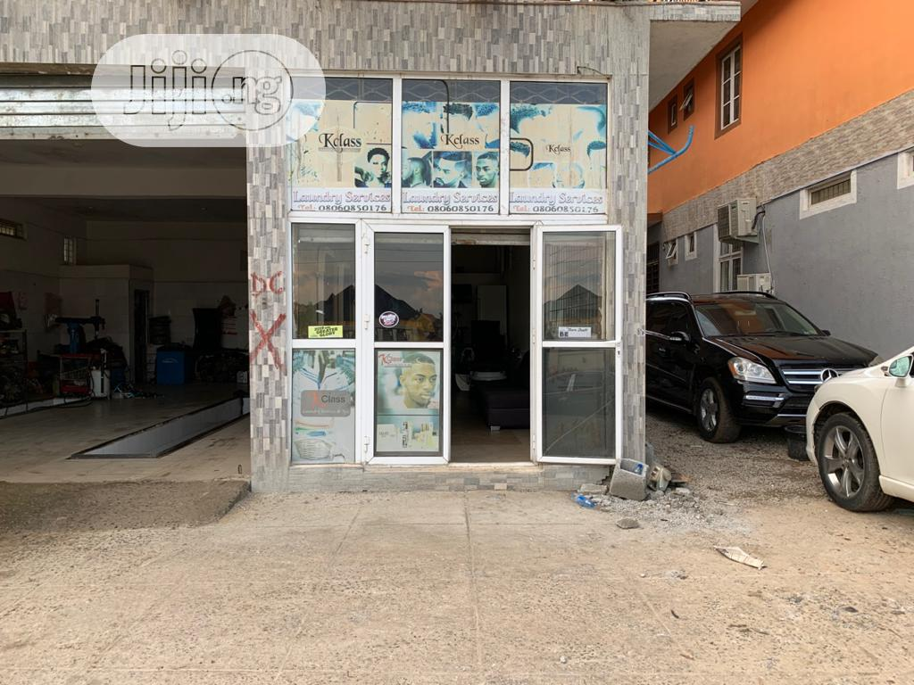 Archive: Shop to Let at 4th Avenue Gwarinpa Before Galadima Gate