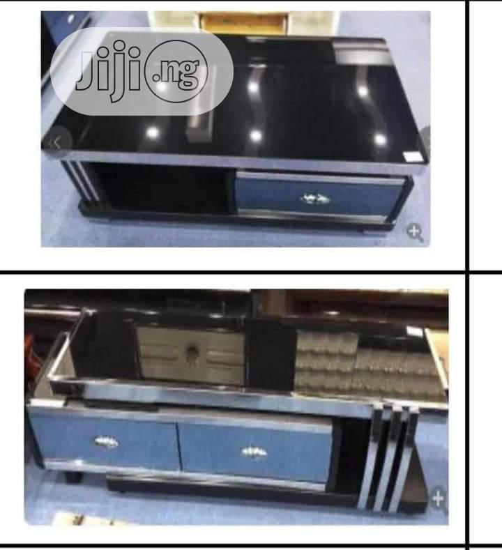Italian Unique LED TV Stands With Center Tables