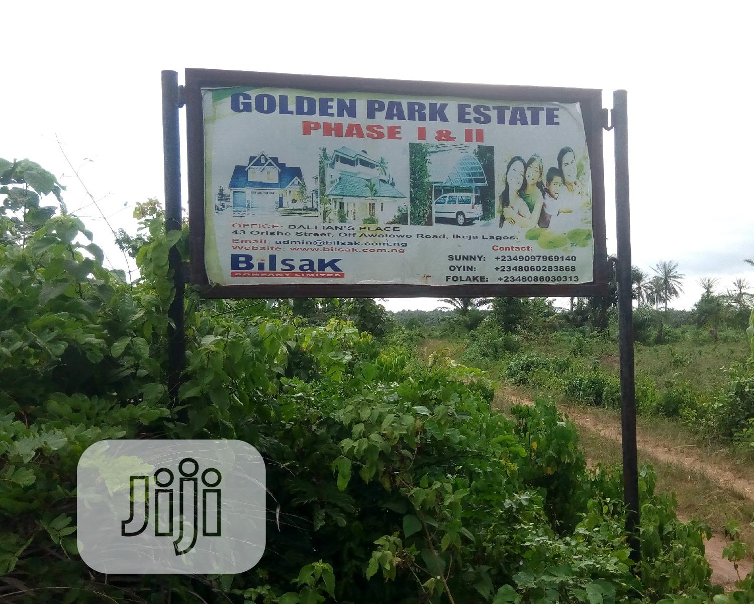 Golden Park Estate Phase 2 | Land & Plots For Sale for sale in Badagry, Lagos State, Nigeria