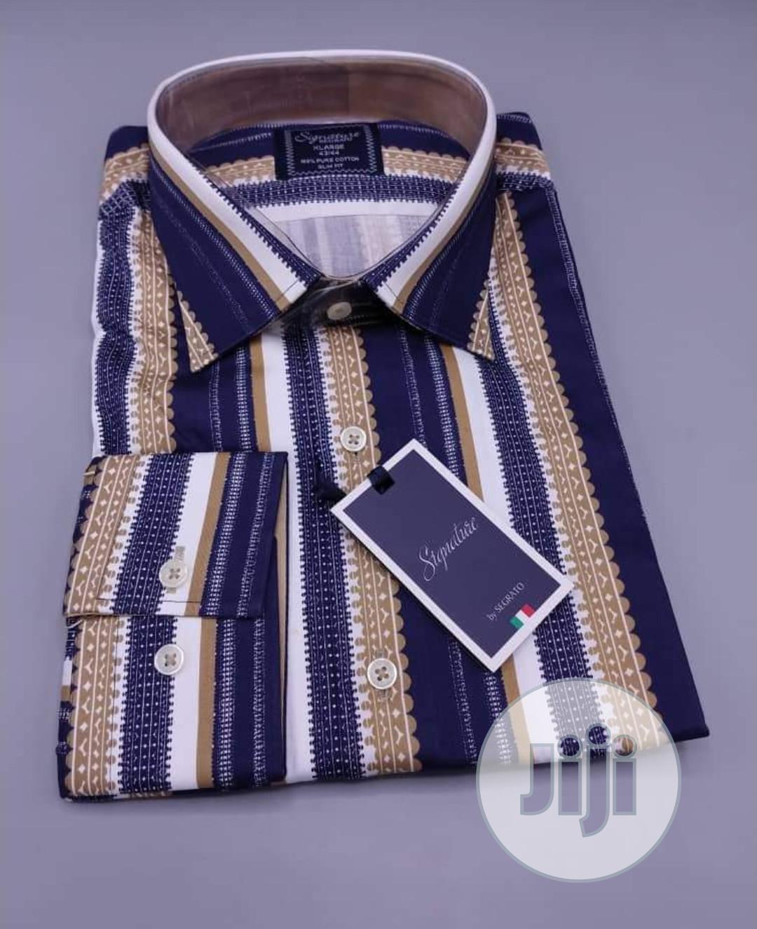 Archive: Bold Stripes Designer's Turkey Shirts by Signature