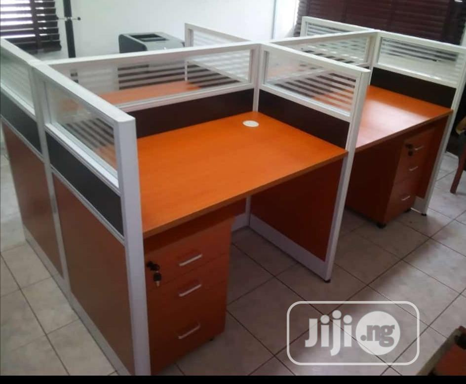 Brand New Quality Office Workstation Table 4-Seater