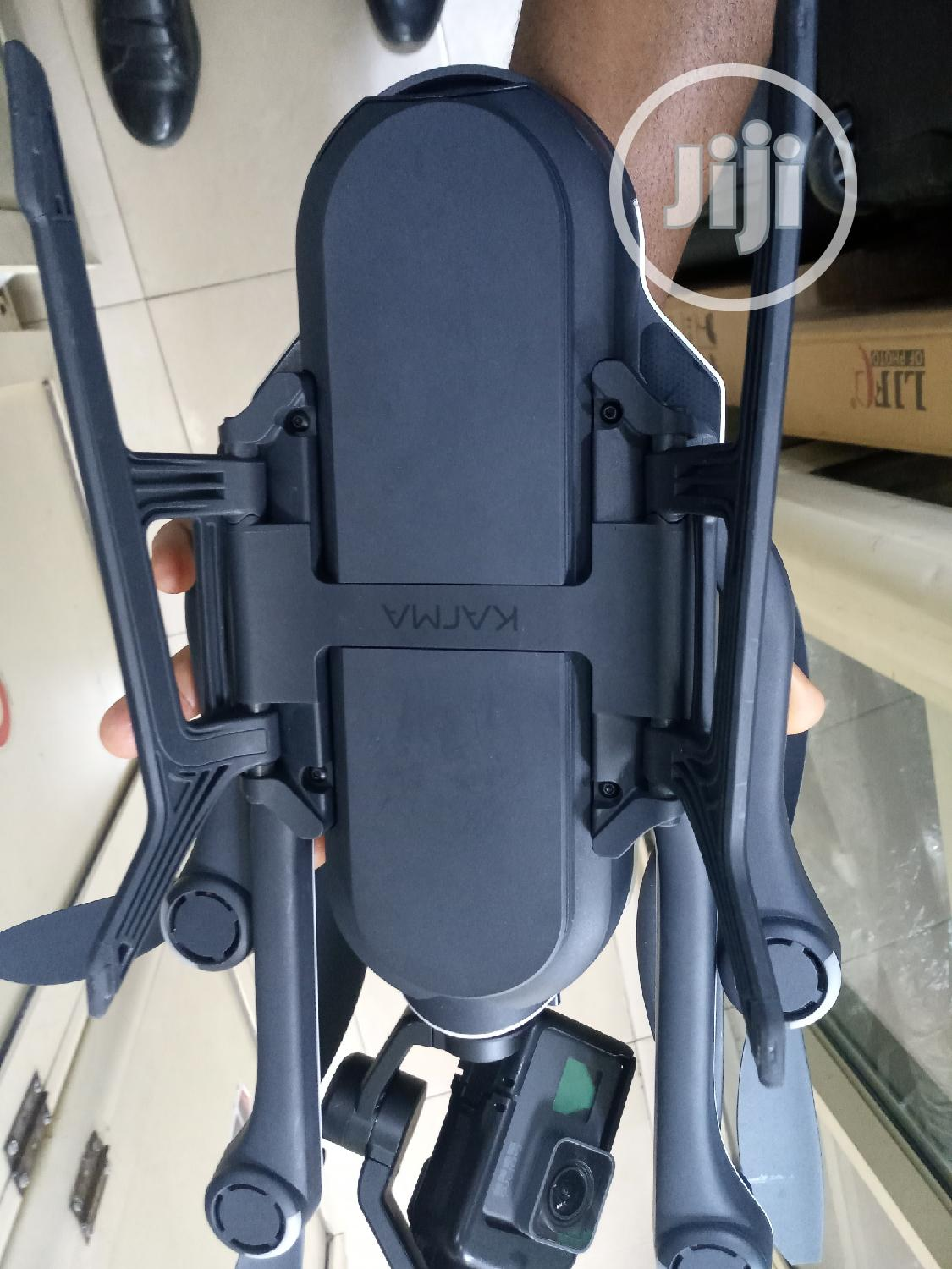 Used Gopro Karma Quadcopter Drone With HERO6 Black And 2 Batteries