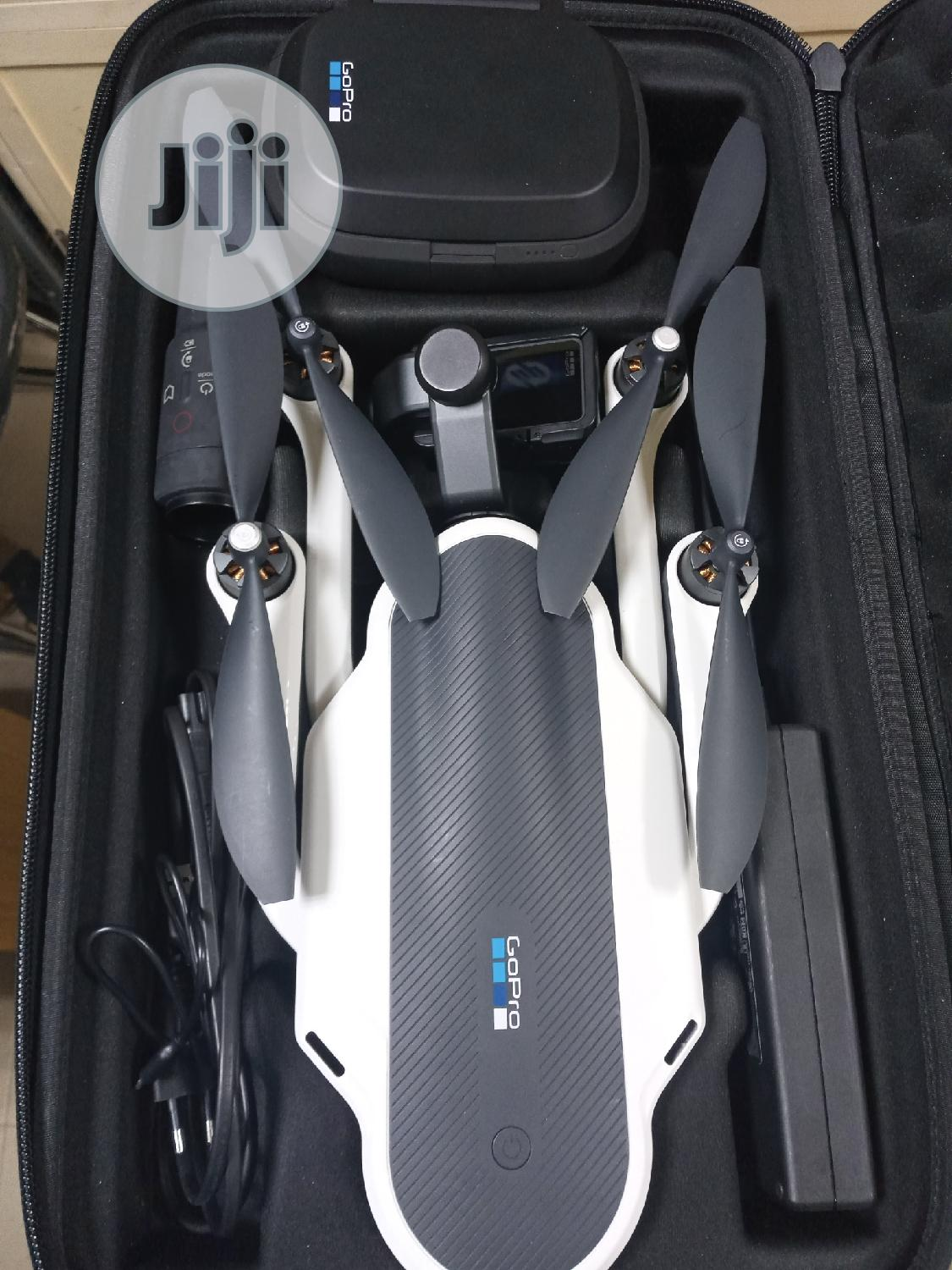 Used Gopro Karma Quadcopter Drone With HERO6 Black And 2 Batteries   Photo & Video Cameras for sale in Ikeja, Lagos State, Nigeria