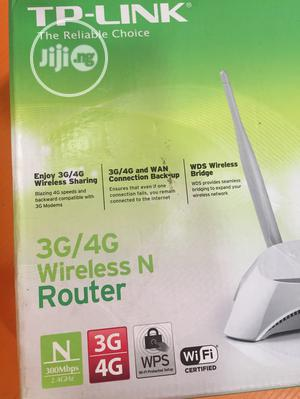 Tp-link 3G/4G Wireless N Router TL-MR3420 | Networking Products for sale in Akwa Ibom State, Uyo